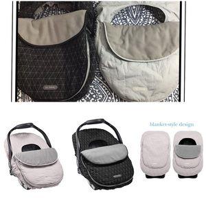 JJ Cole Accessories - JJ Cole | Car Seat Cover Grey Herringbone | OS